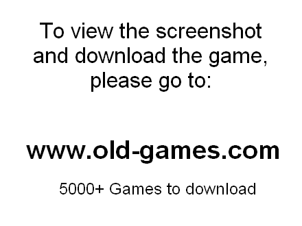War Engine, The Download (2001 Strategy Game)